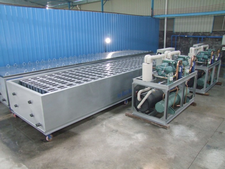 Brine Refrigeration Block Ice Machines