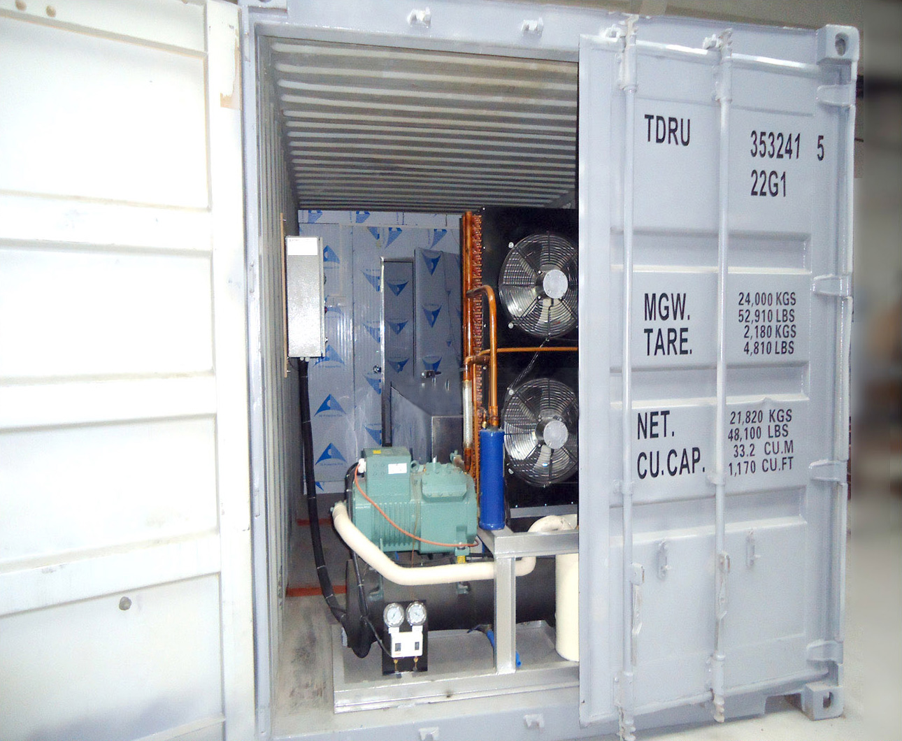 Containerized Block Ice Machines
