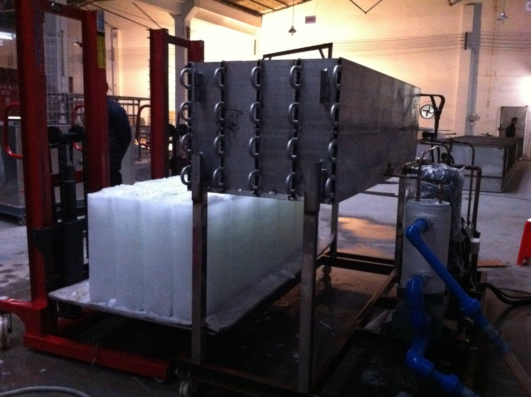 Directly Evaporated Block Ice Machines